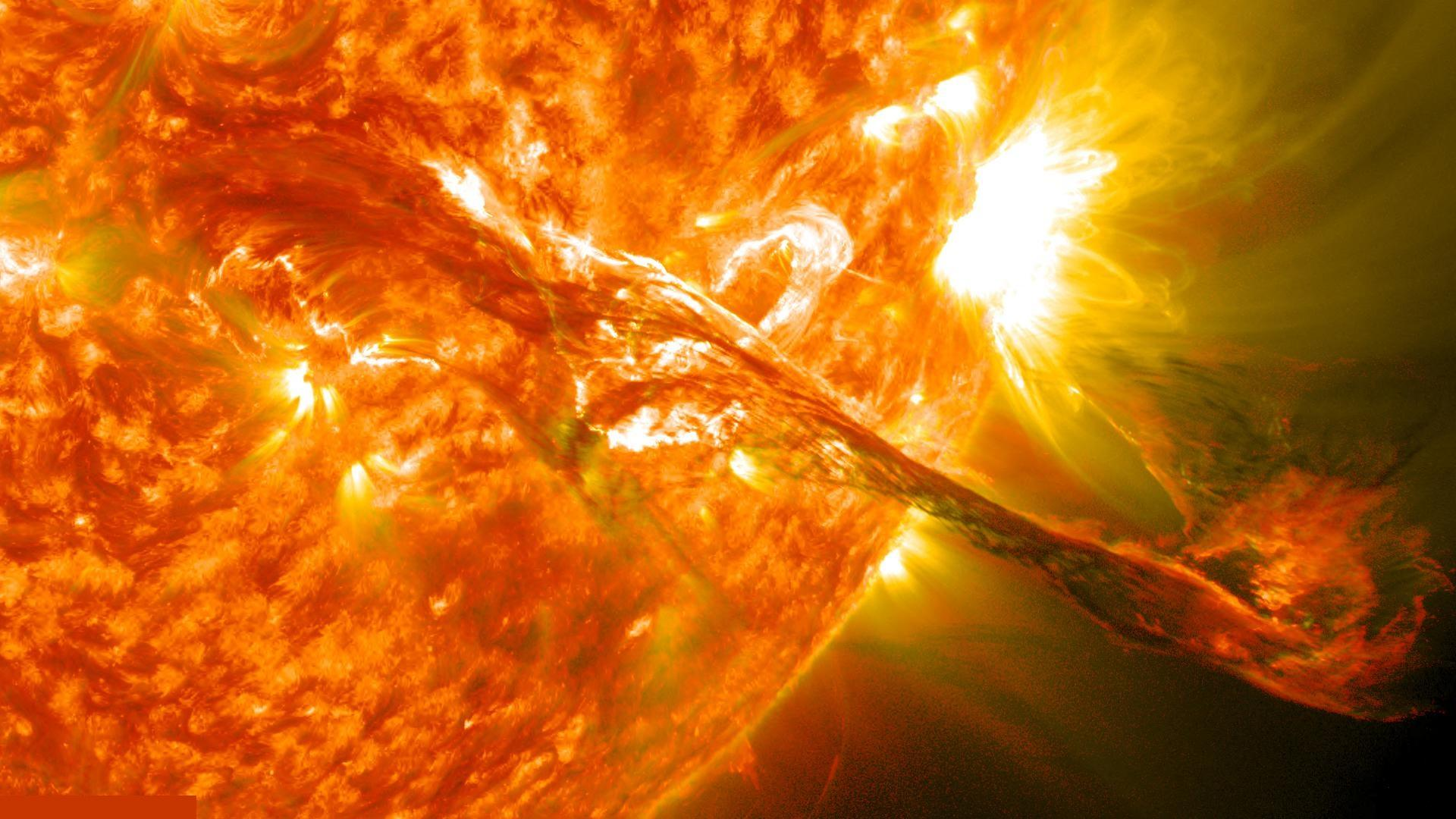 solar flares Our sun has sent forth seven flares in seven days one is headed our way.