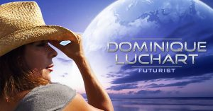 Dominique Luchart looking over the horizon